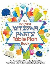 The Bar/Bat Mitzvah Table Plan Book: The Fun and Easy Way to Cut Out and Design