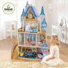 Kidkraft Disney Princess Cinderella Royal Dream Dollhouse with 11 Pc Furniture