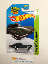 2015 Hot Wheels * '64 Corvette Sting Ray #223 * Kmart Only Dark Green * W20