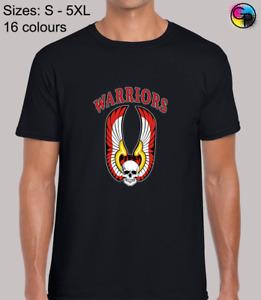 Warriors Logo Classic Movie Film Inspired Novelty Regular Fit T-Shirt for Men