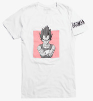 Dragon Ball Z VEGETA BADMAN T-Shirt NEW Authentic & Official