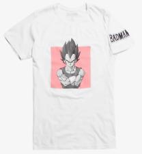 Dragon Ball Z VEGETA BADMAN T-Shirt NEW Authentic & Official