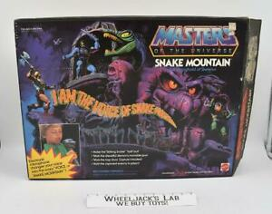 Snake Mountain Complete MIB He-Man Masters of the Universe MOTU 1983 Playset