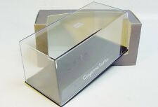 1:43 MINICHAMPS Clear Display Case with PORSCHE Cayenne turbo box DEALER PROMO