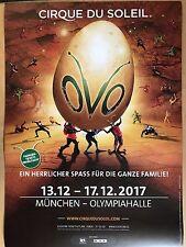 CIRQUE DE SOLEIL OVO 2017 MÜNCHEN + orig.Concert Poster -- Konzert Plakat A1 NEU