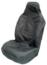 FORD FIESTA HEAVY DUTY SINGLE WATERPROOF GREY VAN SEAT COVER ALL MODELS