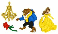 Jesse James Dress It Up Buttons ~ LICENSED - DISNEY BEAUTY AND THE BEAST~ Crafts