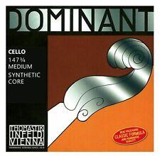 Hochwertiger Satz Thomastik Dominat 147 Saiten mit Kunststoffkern für 3/4 Cello