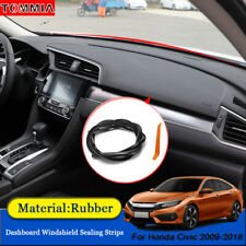 Dust Proof Car Interior Dashboard Windshield Sealing Strips For Honda Civic 2009