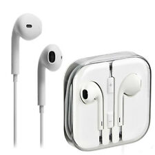 New Earphones earpod work genuine apple MD827LL/A iphone 7 6 5 4S Remote & Mic