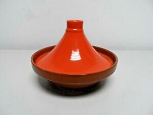 Food Nation Orange Tagine Pot   C66