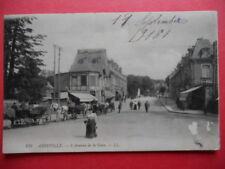 ABBEVILLE  :  L'Avenue de la Gare.......VO.1916.