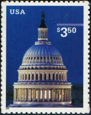 US Stamp 2001 $3.50 U.S. Capitol Dome Priority Mail Stamp #3472