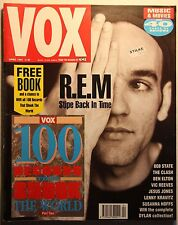 Vox #7 Apr 91 R.E.M. Clash Jesus Jones Susanna Hoffs