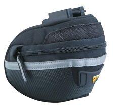 NEW Topeak Wedge Pack II - Micro Bicycle/Bike Seat Bag w/ Quick Click Fixer 2