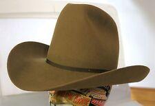 VINTAGE NEW Western 4X Beaver Fur/Felt Hat by STETSON 6 5/8 Long Oval