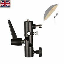 UK H type flash Bracket Hot Shoe Umbrella Holder Mount Light Stand For DSLR