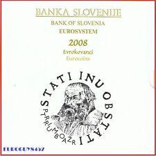 SLOVENIE - BU SET 2008 + 3 € 2008