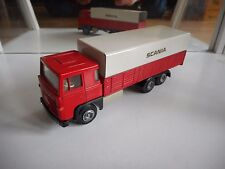 Tekno Denmark Scania 140 Super in Red/White on 1:50
