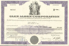 Glen Alden Corporation > purple bond certificate coal stock share scripophily