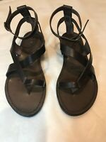 Ancient Greek Leather Sandals Dark Brown RRP EUR 90 (AU $146)