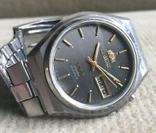 Orient Crystal-os469c259-Automatic Day/date reloj hombre 37 mm japón 1978 aprox.