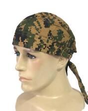 Mfh Headwrap hombres cubrir Ejército tradicional Pañuelo Woodland digital Camo