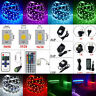 5M Led Strip Light 3528 5050 5630 SMD RGB Warm White 300 Lamp + Remote+Power 12V
