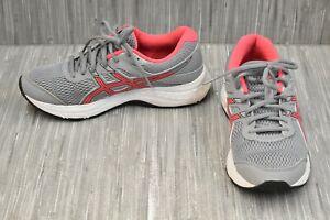 ASICS GEL-Contend 6 1012A571 Running Shoes, Women's Size 7.5W, Grey/Pink