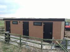 28 x 10 portable cabin, shower toilet block , modular building, portable office