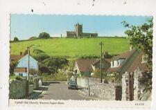 Uphill Old Church Weston Super Mare Postcard 807a