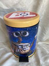 Rare 11� Disney Pixar Bnl Wall-E Kids Waste Basket Trash Can