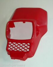 Honda MT5 MT8 50 80 Lampenmaske rot schwarz weiss  plastic red black white lamp