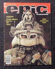 1982 EPIC ILLUSTRATED Magazine #11 FVF 7.0 Harlan Ellison
