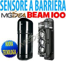 Sensore barriere IR wireless da esterno BEAM100 per centrale allarme antifurto