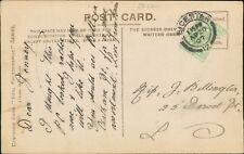Miss G  Billington. 25 Dorset Street, Leicester. 1907.  CB.458