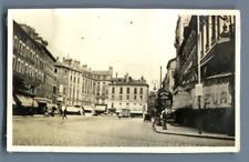 France, Grenoble, Une vu de la ville  Vintage silver print.   Tirage argentiqu