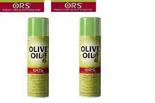 Organic Root Stimulator ORS aceite de oliva Nutritiva Brillo Spray 455 Ml * paquete doble *