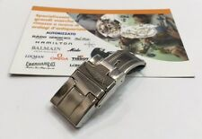 Chiusura Deploy acciaio originale Paul Picot per Mediterranée donna 16mm