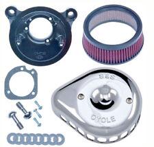 Filtro Aria Sportster 883 1200 S&S Cromato Per Harley Davidson XL a Carburatore