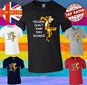Winnie The Pooh Tigger Quote Cartoon Men Women Unisex T-shirt Vest Top 3862