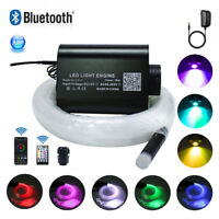 16W RGBW LED Fiber Optic Star Ceiling Light Kit 28key RF Remote Control 6.5ft/2m
