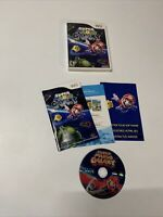 Super Mario Galaxy (Nintendo Wii, 2007) CIB Tested COMPLETE Free Shipping