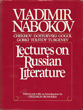 Nabokov, Lectures on Russian Literature, 1st ed./1st printing, 1981, HCDJ