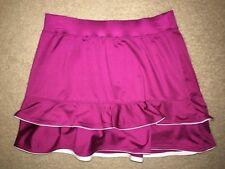 TAIL Tech Tennis Golf Athletic SKIRT No Inner Shorts Stretch SMALL Pink/Fuschia