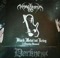 Nargaroth -Black Metal Ist Krieg, 1stPress, Ltd. 2x Vinyl.(Moonblood,Darkthrone)
