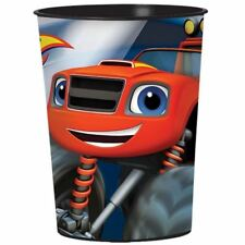 Single Blaze and The Monster Machines Birthday Party 455ml Plastic Cups