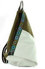 Vagabond Boho Hippie Hobo Fashion Conversion Backpack