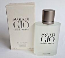Giorgio Armani Acqua Di Gio Eau De Toilette Spray for Men 3.4 Oz Authentic