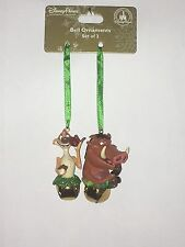 DISNEY STORE - SKETCHBOOK COLLECTION - TIMON & PUMBA HANGING CHRISTMAS ORNAMENT